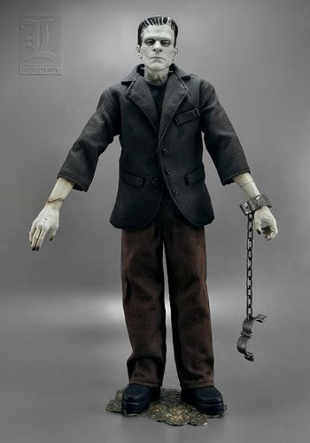 Silver Screen Edition ~ FRANKENSTEIN 12 inch 1/6 scale figure by Sideshow Toy