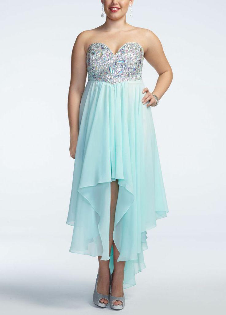 David Bridal Plus Size Cocktail Dresses