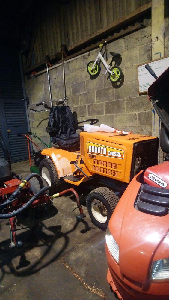Kubota G3hst 5200h Ride On garden tractor mower b1700