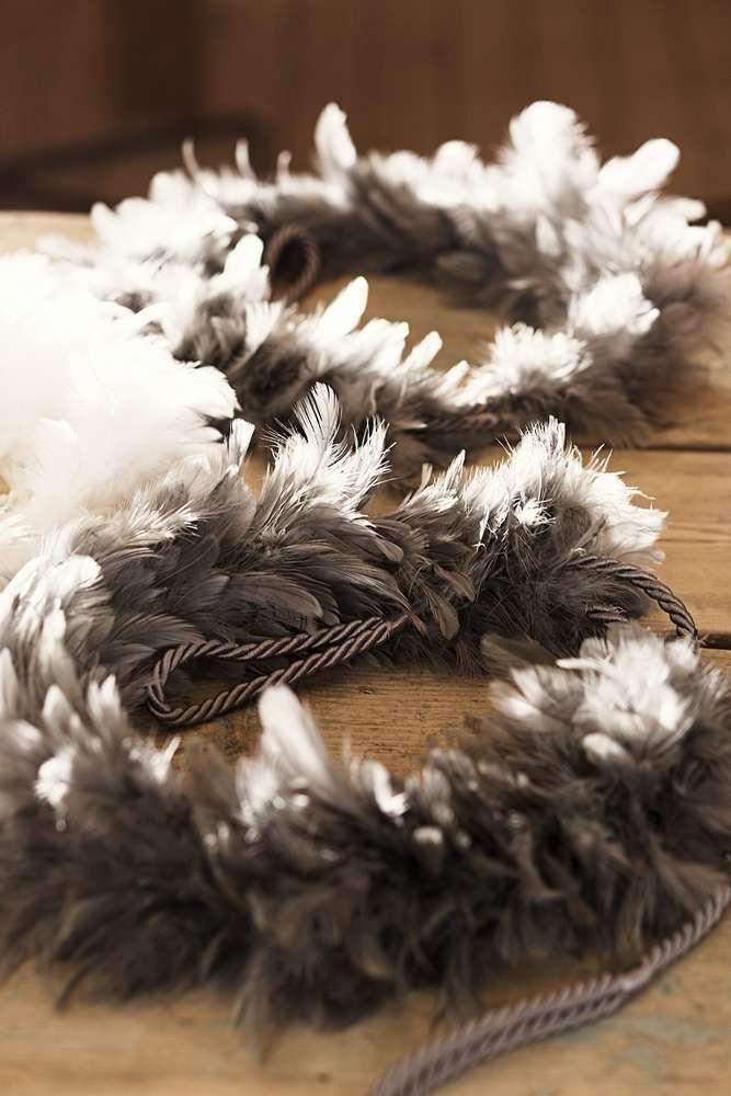 SULKA verhonauhalla saat ryhtiä verhoihin - käytä myös kranssina tai koristeena! #lennol