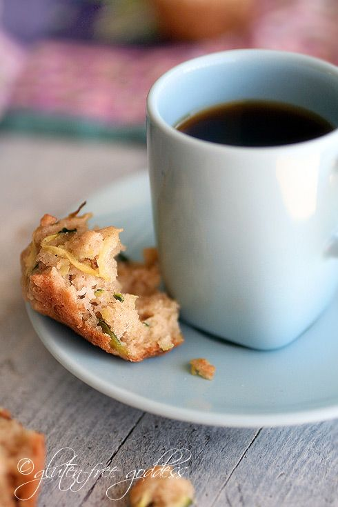 Maple Sweetened Almond Zucchini Mini-Muffins Recipe — Dishmaps