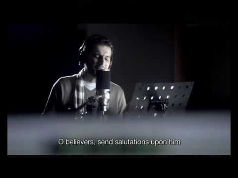 Sami Yusuf - Asma Allah.  If you're new to Islam..or want to learn..this has english translation, and it's a beautiful video.  I like that it shows many different muslims, from all over the world.  And it shows the reverence in which muslims show towards the prophets, may Allah be please with them.  <3