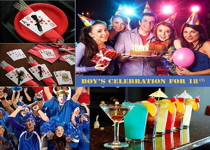 Birthday Party Theme for boys: How are boys celebrating 18th birthday.Here are 9 unique theme ideas for birthday celebration for boy.