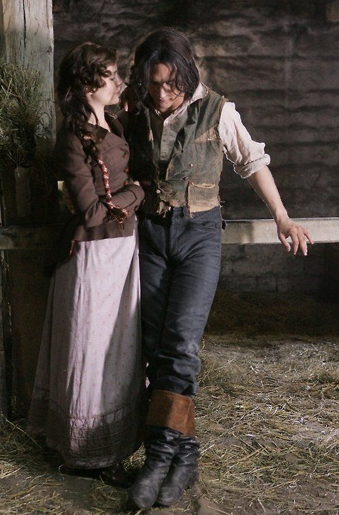 Tom and Charlotte from Wuthering Heights (2009)