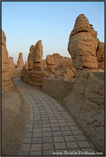 Turpan (II) : Jiaohe et Gaochang, cités disparues (Xinjiang, Chine) - thibinspore