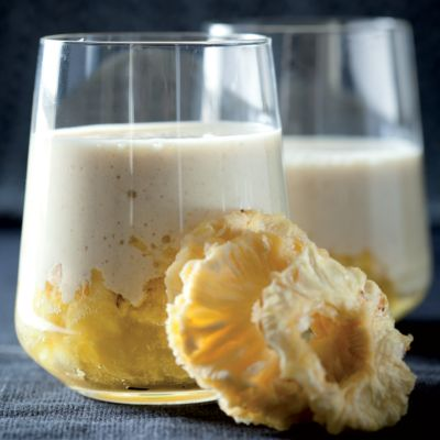 Taste Mag   Pineapple and rolled-oat smoothies @ https://taste.co.za/recipes/pineapple-and-rolled-oat-smoothies/