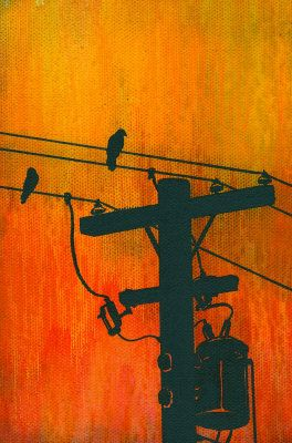Two Birds on a Wire - melissa ryan