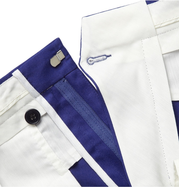 PS by Paul Smith Slim-Fit Cotton-Twill Trousers | MR PORTER