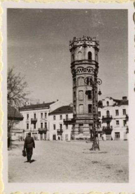 German troops in Lublin Poland 1939
