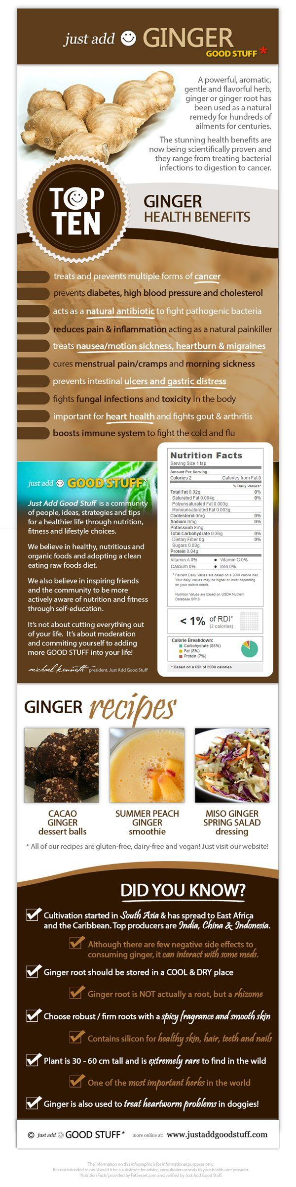 Studies have shown that ginger has a substantial effect on both the prevention and treatment of motion sickness