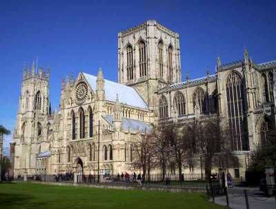 The Minster in all its glory. I am sure this should be a postcard really and not on a website.