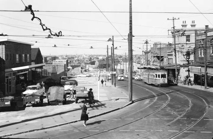 Victoria Rd,Rozelle,Sydney in 1950s.A♥W