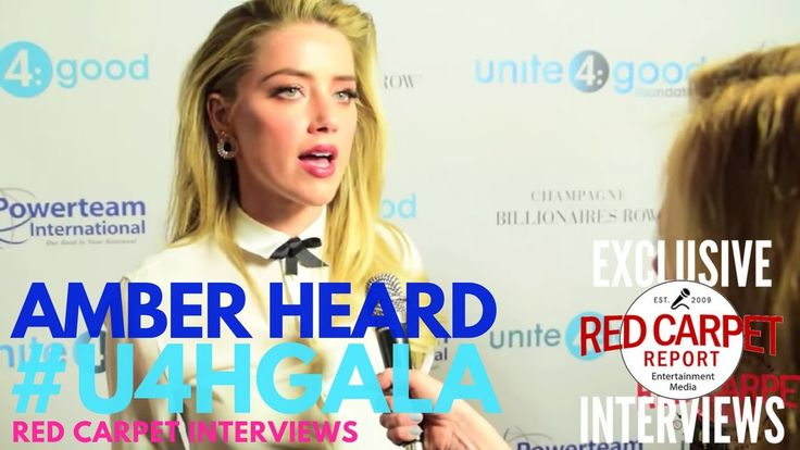 Amber Heard interviewed at the Unite4:Humanity Gala #u4hGala #Charity