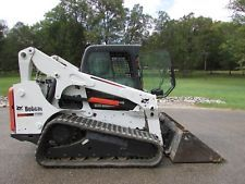 2011 BOBCAT TRACK SKID STEER / CAB WITH HEAT / 85 HP TURBO / 10800 LB /  N R  skid steer loaders - construction equipment - equipment financing - heavy machinery