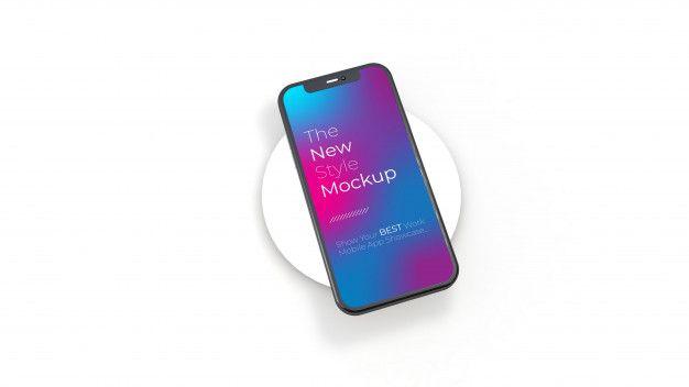 Realistic Smartphone Mockup Clean Smartphone Mockup Smartphone Mockup Smartphone Case