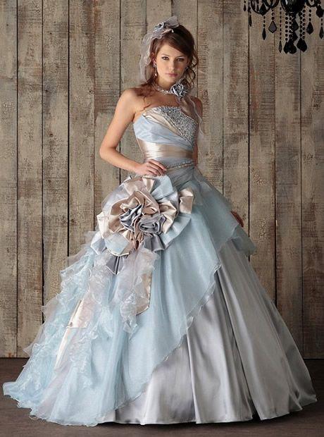 Pinterest Wedding Ideas: Light Blue and Gold - Munaluchi Bridal Magazine