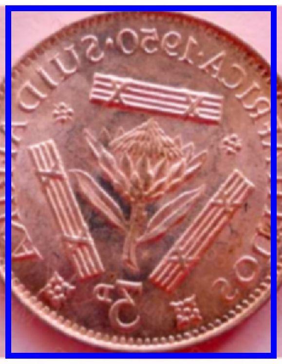Afrika value suid coin 1 cent
