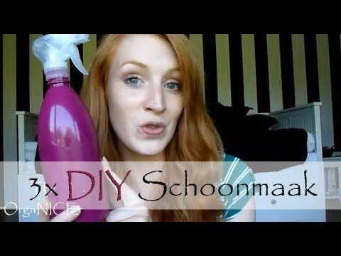 DIY: schoonmaakmiddelen, Deel 1 - YouTube