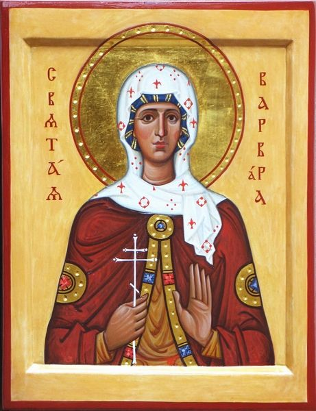 St. Barbara by Feodor Pirvits
