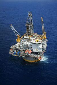 La spar Mad Dog installata nel Golfo del Messico