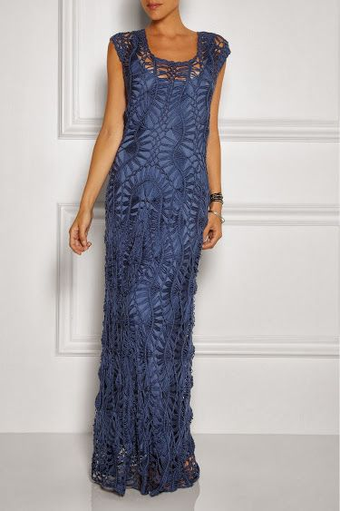 Outstanding Crochet: Crochet Dress from Lisa Maree. My inner self wants this dress.