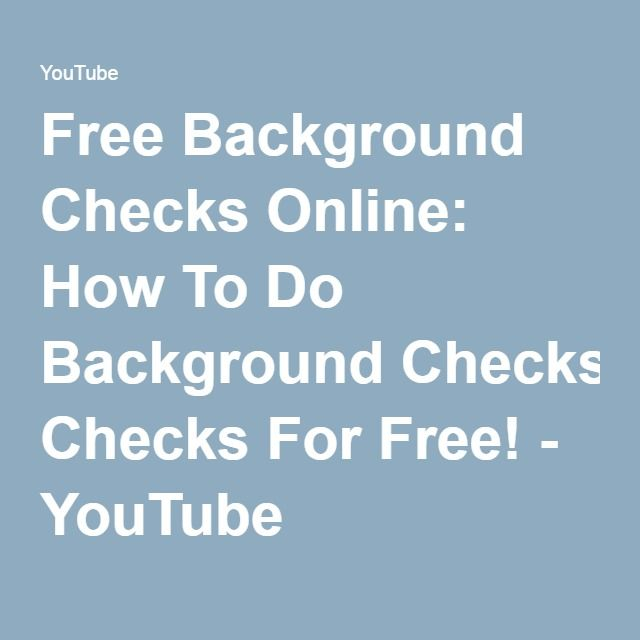 The 25+ best Background check services ideas on Pinterest Free - sample background report