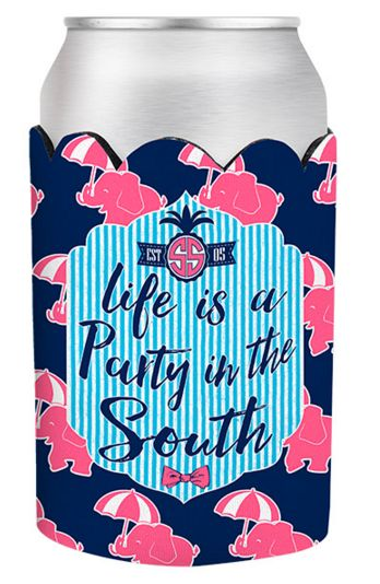 Simply Southern Life is a Party Koozie