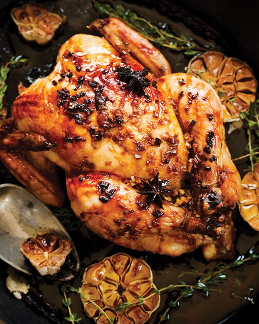 Soy Orange Glazed Chicken -  #sweetpaul