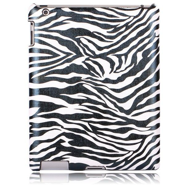 Zebra Fashion (Hvid) The New iPad 3 / iPad 4 Cover