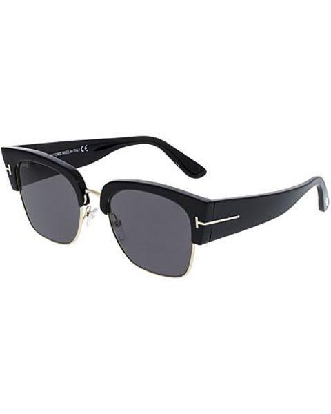 f135c82a35 Tom Ford Dakota-02 FT0554-01A-55 Black Square Sunglasses