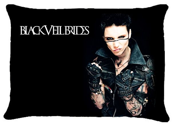Black Veil Brides pillows | Details about NEW BVB BLACK VEIL BRIDES Andy Andrew Biersack Pillow ...