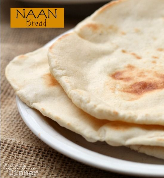 Making your own Naan isn