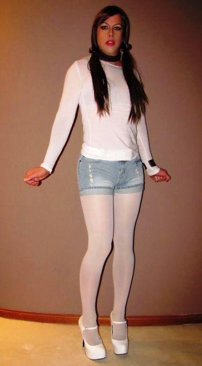 Transgender pantyhose