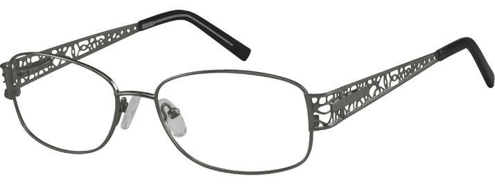 Metal Alloy Full-rim Frame with Spring Hinges