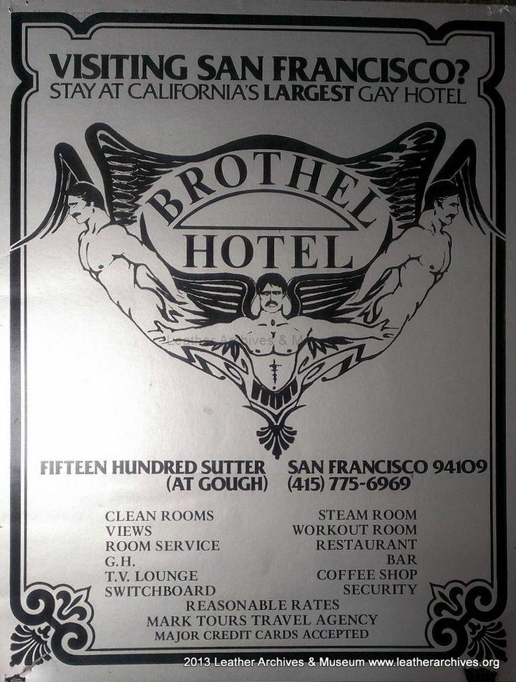 Brothel Hotel poster San Francisco, CA