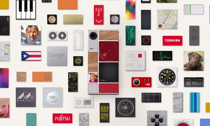 Google to Launch Modular Smartphones with Switchable Parts