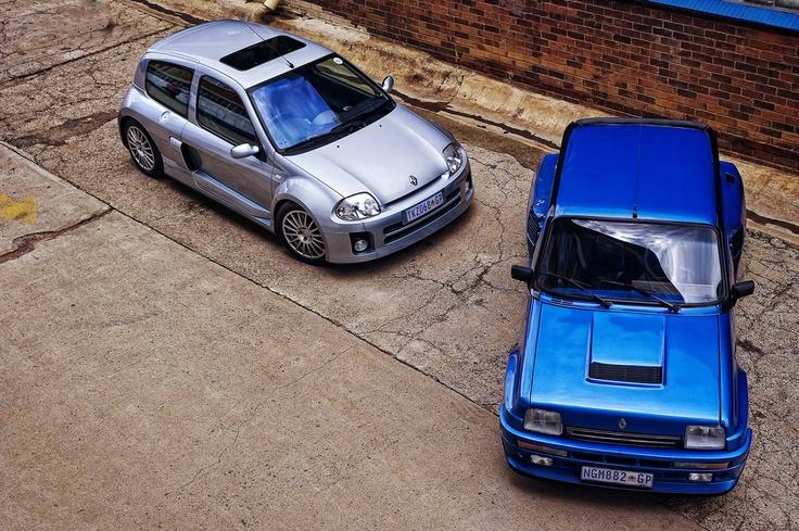 Renault Clio V6 & R5 Turbo 2! Luke I am your father