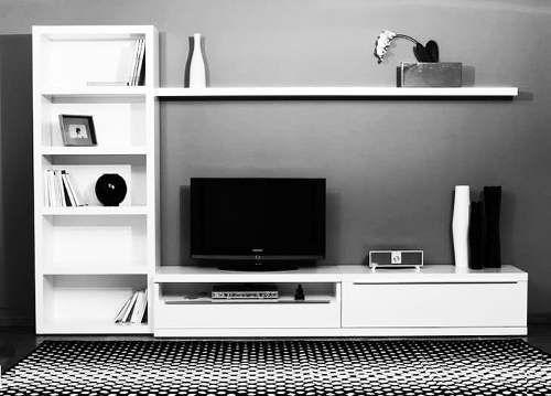 Mueble de televisi n de madera garant a de 5 a os home - Muebles para el televisor ...
