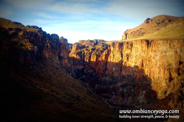 Hiking in Cueva de las Manos - Patagonia, Argentina