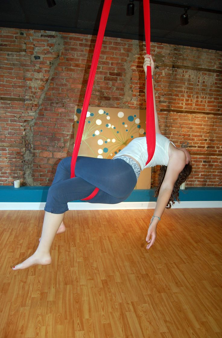 Aerial Sling (Aerial Hammock) Moves!  The Faint