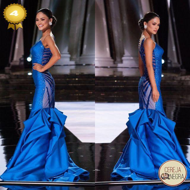 Cereja Negra: Os 5 melhores vestidos de gala do 'Miss Universo 2015'