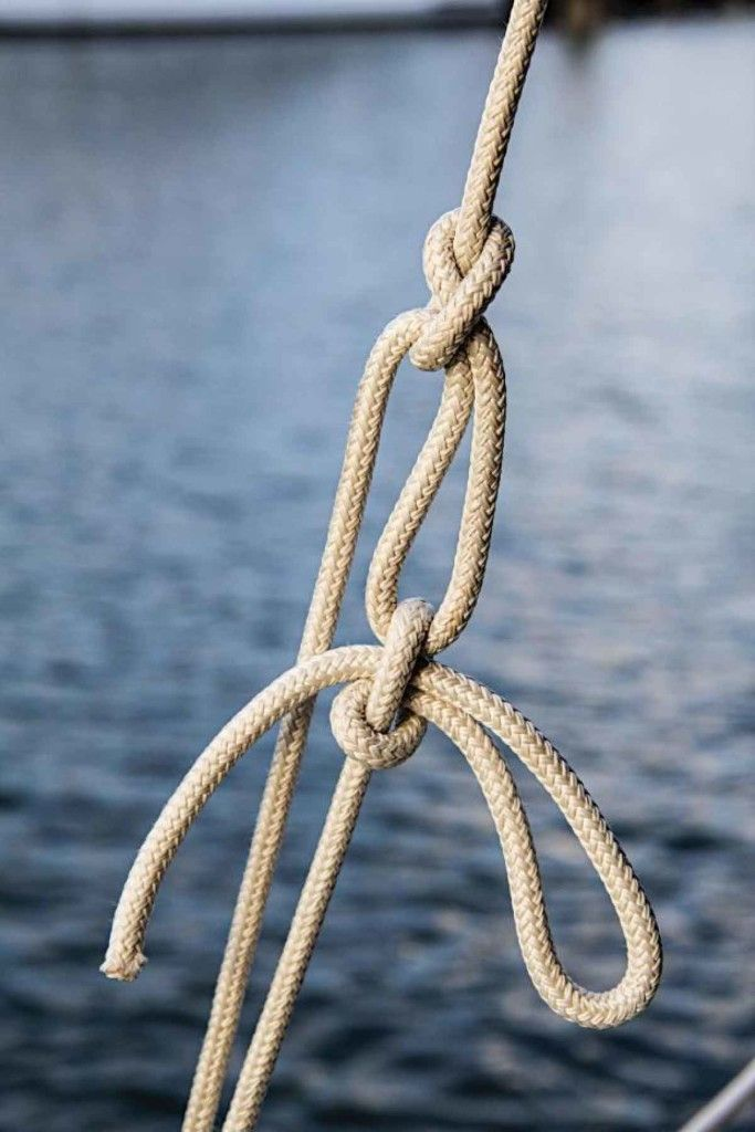slippery Trucker's Hitch. One of my favorite go-to utility knots.