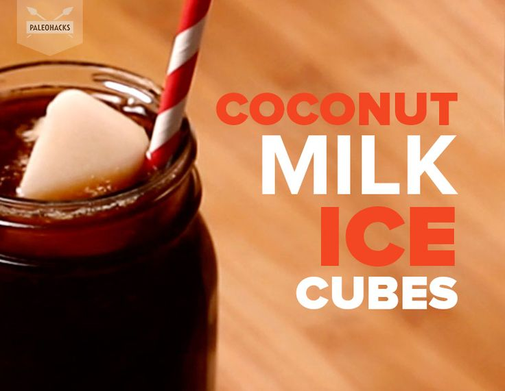 How to make coconut milk ice cubes. For the full recipe and how to video visit us at http://paleo.co/cocoicecube
