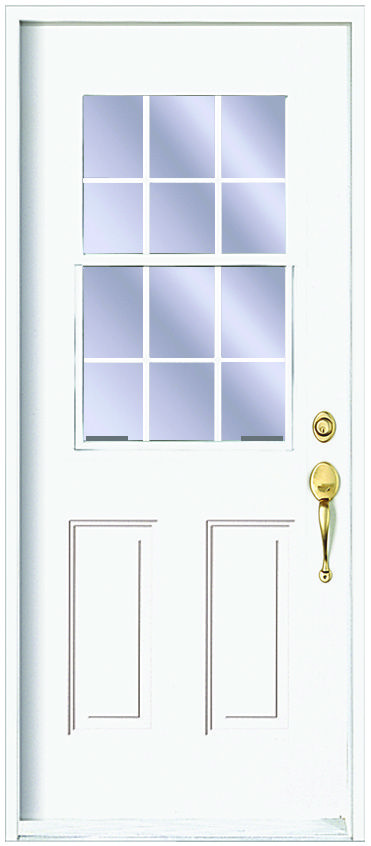Steel doors traditional series kohltech windows and for Energy efficient entry doors
