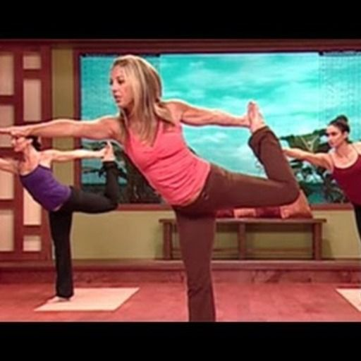 Yoga Cardio Burn with Denise Austin @MoveMeFit.  Check out the full workout: https://www.movemefit.com/videos/yoga-cardio-burn-with-denise-austin