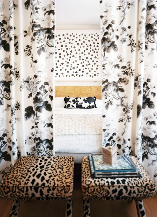 the HUNTED INTERIOR: My Favorite Leopard Fabric