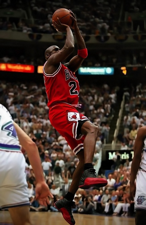 MJ Takes The Jumper 97 Finals