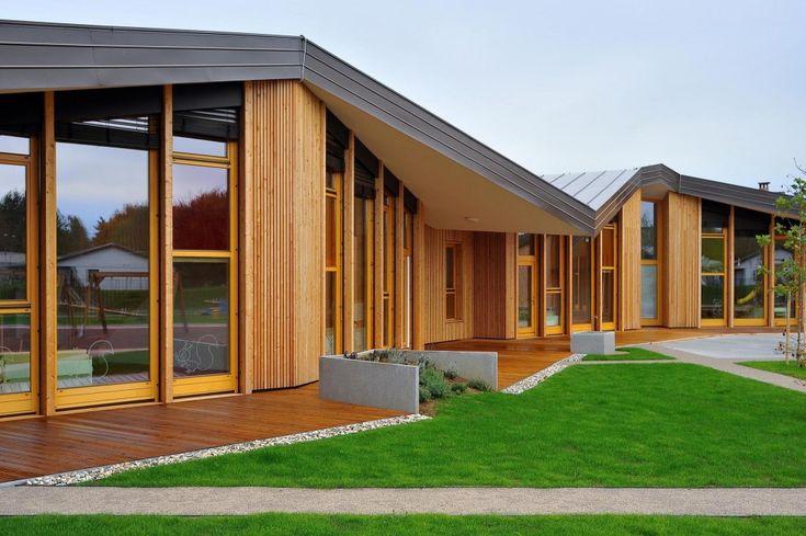 undulating roof