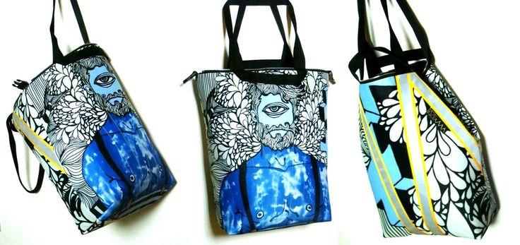 ART MIMA bags Painta Macieja Muszyńskiego z obrazami Marcina Painty