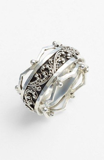 Lois Hill Granulated Cigar Band Ring available at #Nordstrom